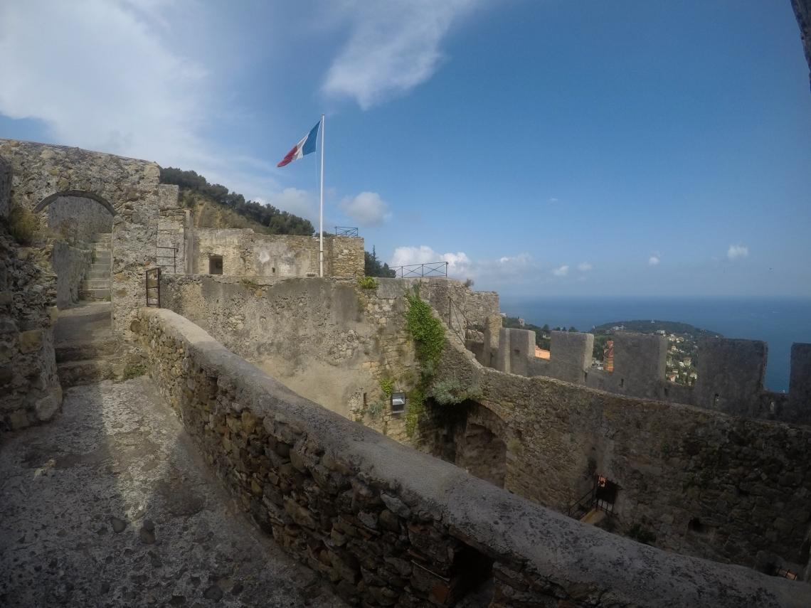 Le château de Roquebrune Cap-Martin