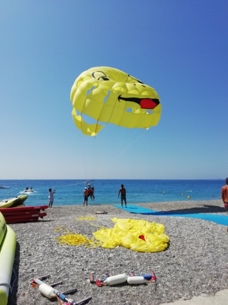 Parachute ascensionnel Smiley Nice