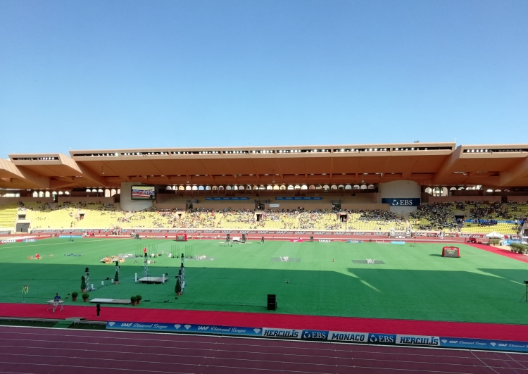 Stade Louis II Monaco - Meeting Herculis Diamond League