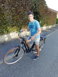 Essai du vélo électrique