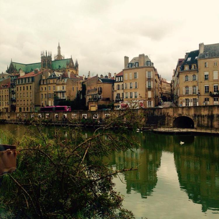 Retour à Metz pour les retrouvailles.