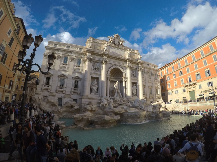 Fontaine de Trévi à Rome